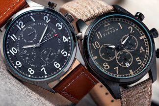 Precision Crafted Aviator Watches