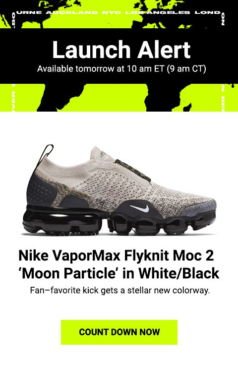 quality design 5c7f6 0f98f Nike VaporMax Flyknit Moc 2 - available 11.26. - Lady Foot ...