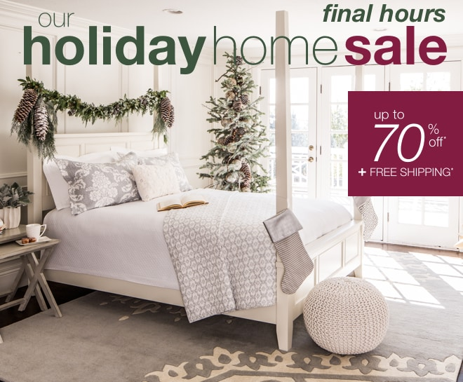 Home Holiday Sale