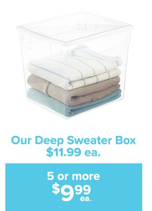 Buy More Save Big The Container Store Email Archive