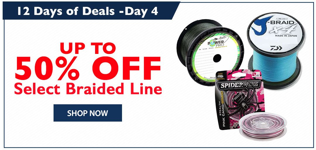 Up to 50% OFF Select Braided Line