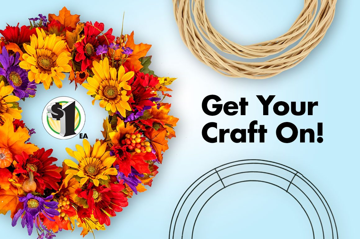 Shop $1 Fall Craft Supplies