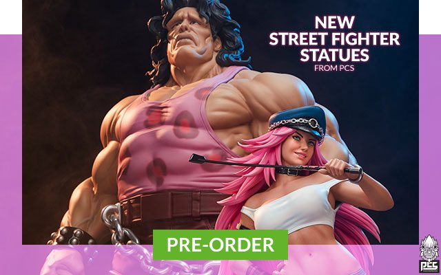 New Street Fighter Statues by PCS