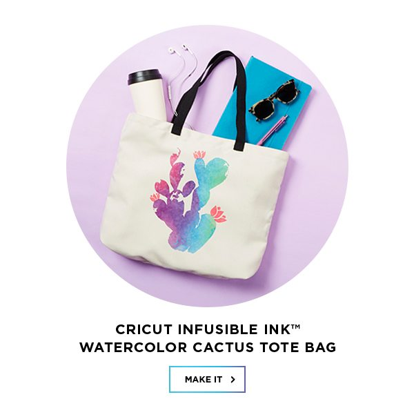 watercolor tote project