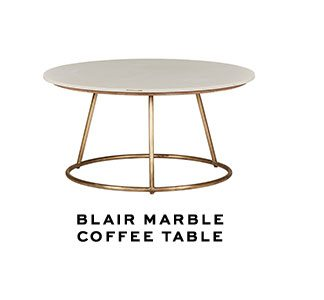 BLAIR MARBLECOFFEE TABLE