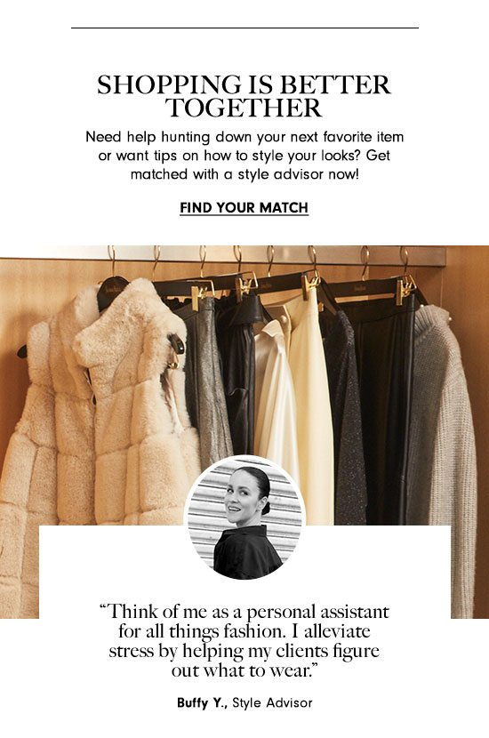 Shopping is Better Together - Find Your Match