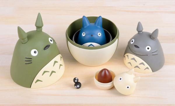 NOW AVAILABLE Totoro Nesting Dolls Collectible Set by Ensky