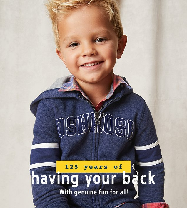 125 years of having your back | With genuine fun for all!