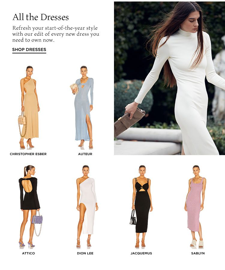 All the Dresses - Shop dresses