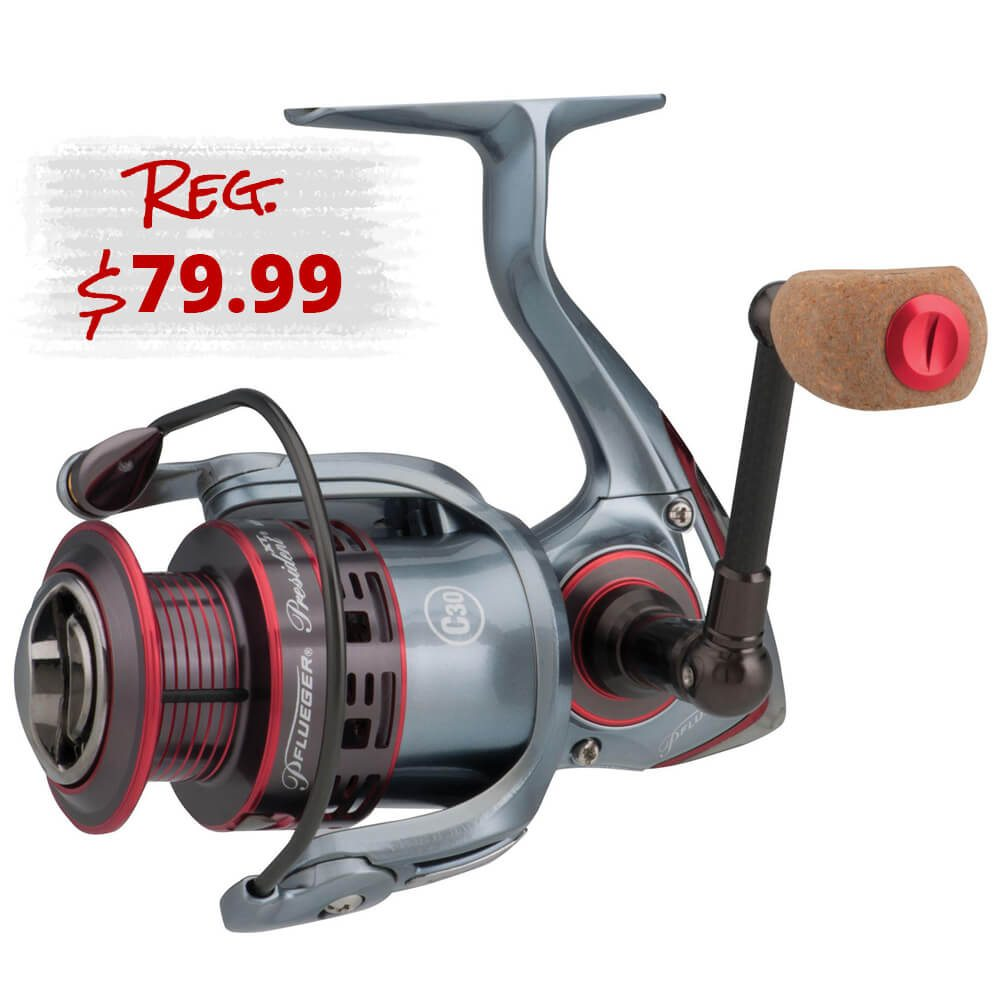 Pflueger President XT Spinning Reel Buy 1, Get 1 35% off