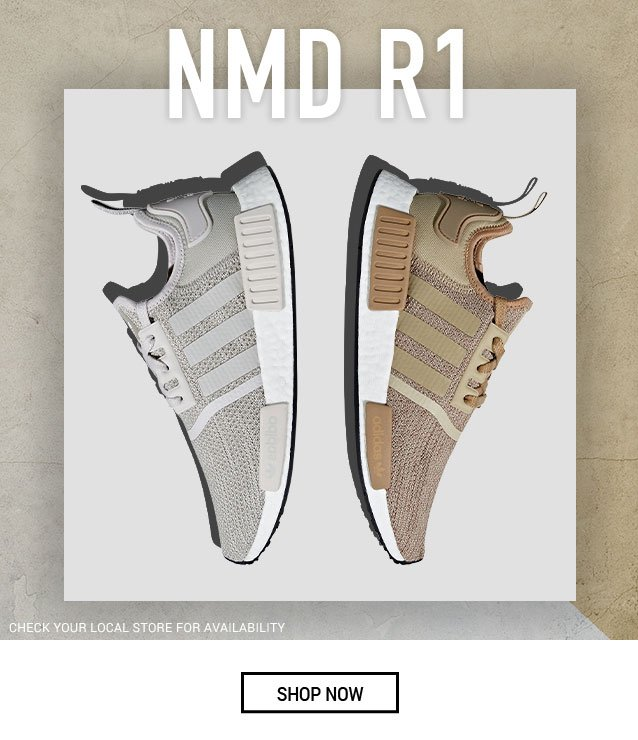 e1a002cc7cb7 Get a futuristic look with the adidas NMD R1 - Hibbett Sports Email ...