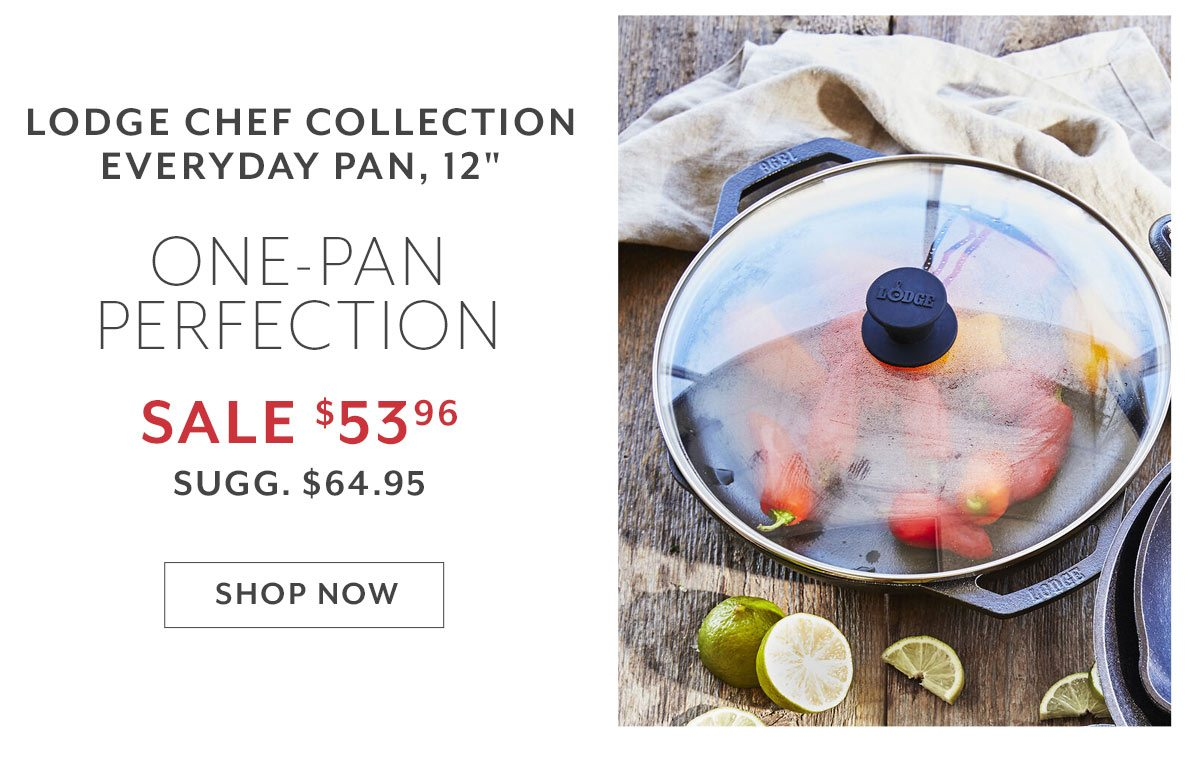 Lodge Chef Collection Everyday Pan