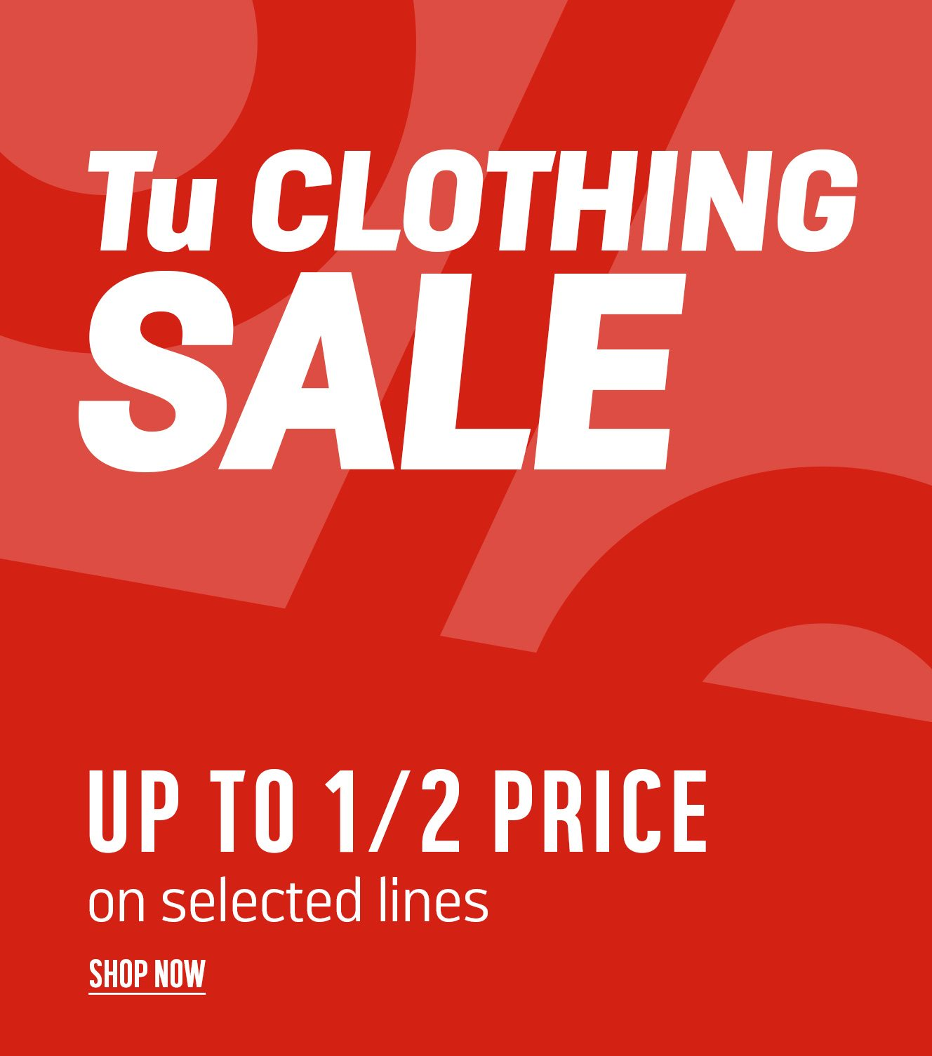 1bc14b639 Tu Clothing Sale - Save up to 1/2 price on selected lines... - Argos ...