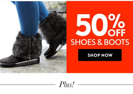 Shop Shoes and Boots