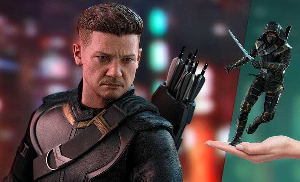 Hawkeye (Deluxe Version) Sixth Scale Figure by Hot Toys