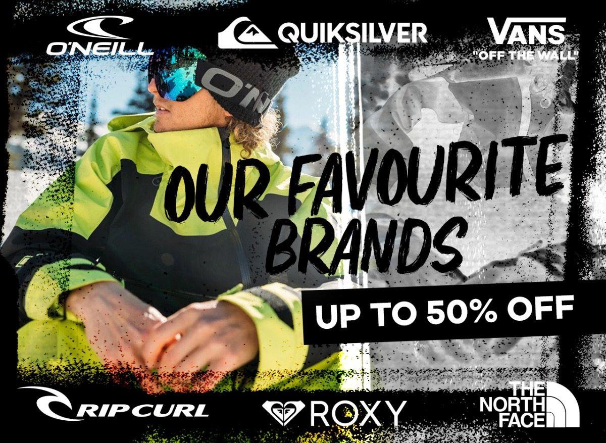 Our favourite brands | Shop now