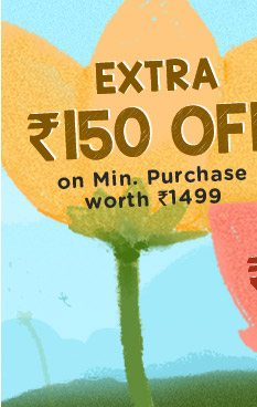 Extra Rs. 150 OFF*