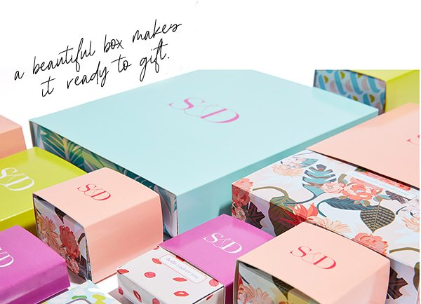 a beautiful box makes it ready to gift.