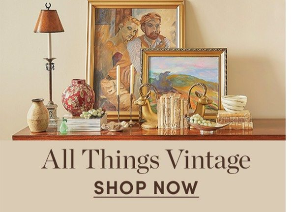 All things vintage