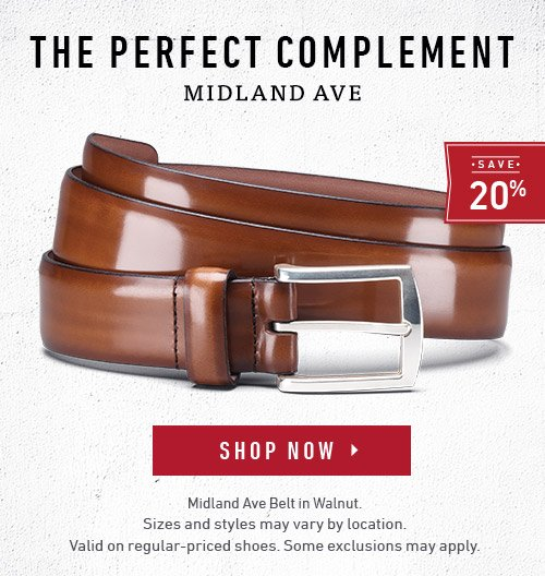The perfect complement - Midland Ave Belt