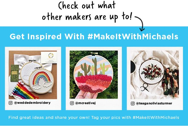 hashtag make it with michaels