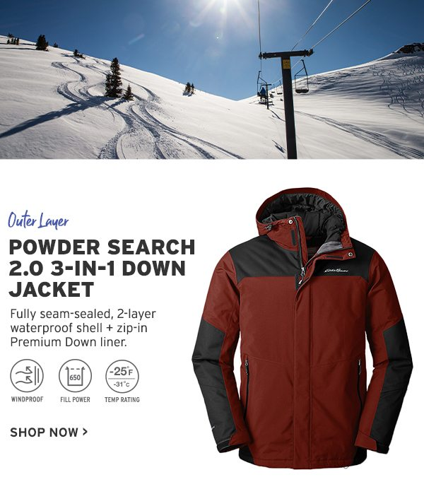 M POWDER SEARCH 3 IN 1