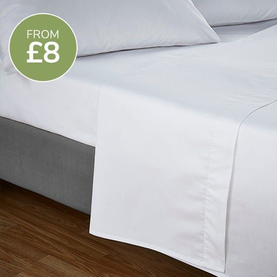 Flat sheets from £8