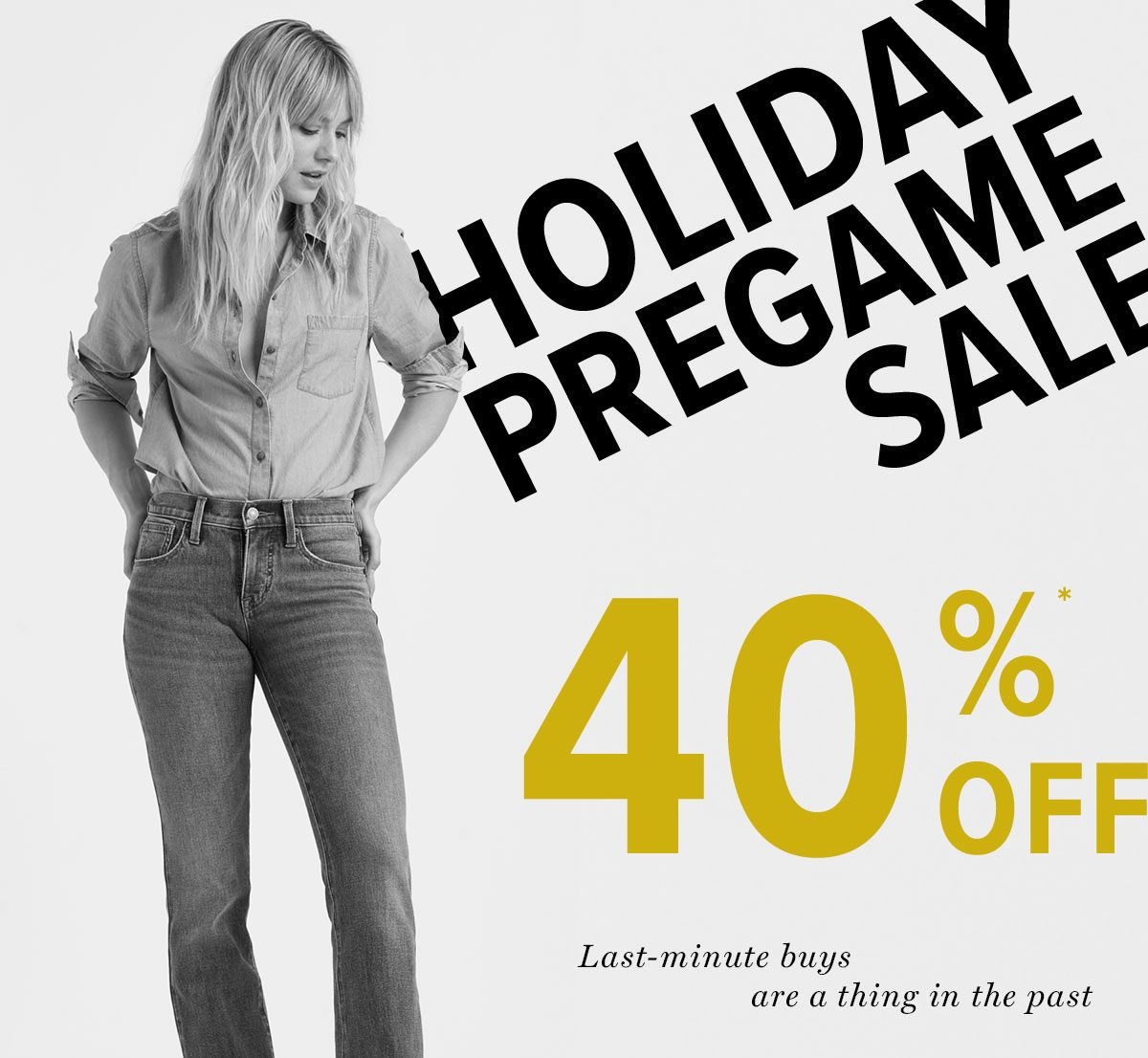 Shop Our Holiday Pregame Sale!*
