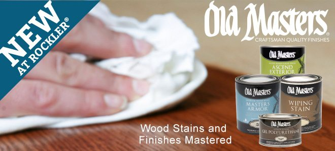 New! Old Masters Wood Stains and Finishes Mastered