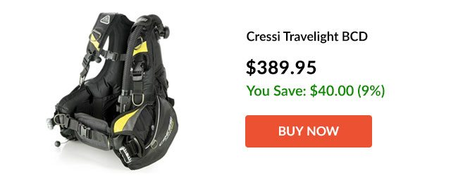 Cressi Travelight BCD - Buy Now