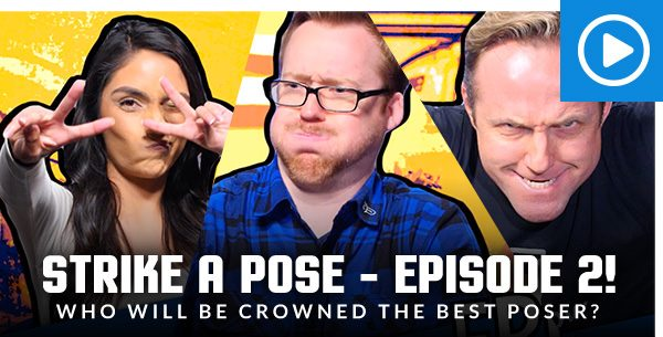 Strike A Pose - Episode 2! Who will be crowned the best poser?