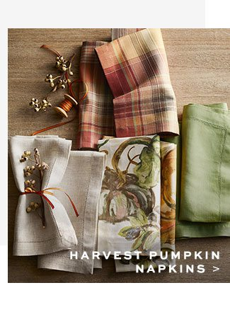 HARVEST PUMPKIN NAPKINS