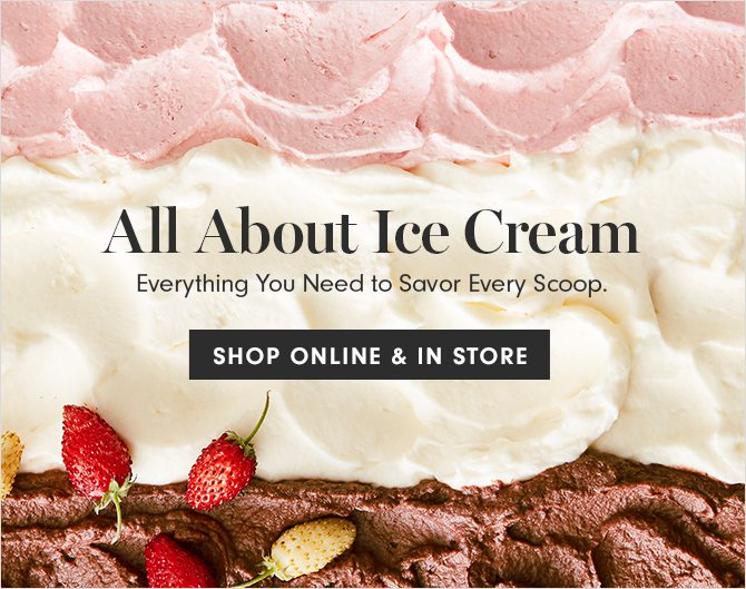 All About Ice Cream - SHOP ONLINE & IN STORE