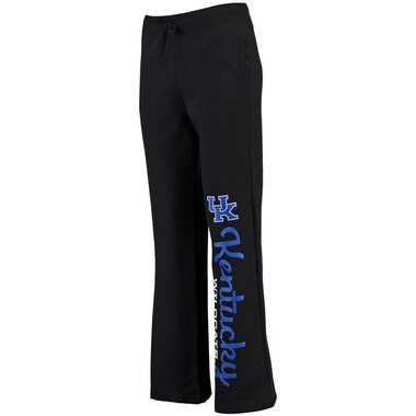 Kentucky Wildcats Fanatics Branded Women's Cozy Fleece Sweatpants - Black
