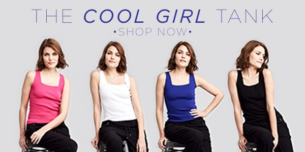 Stay Clam, Cool and Collected in our Cool Girl Tank