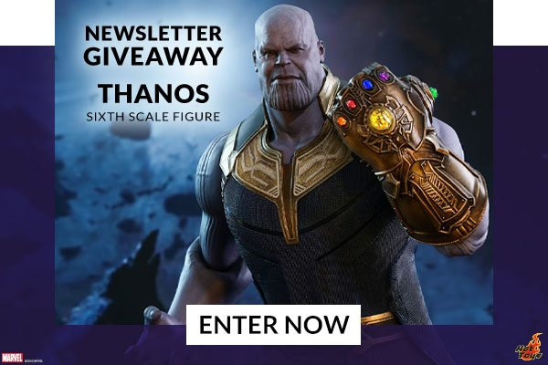Newsletter Giveaway - Thanos Sixth Scale Figure