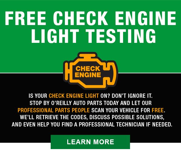 does oreillys check engine codes for free