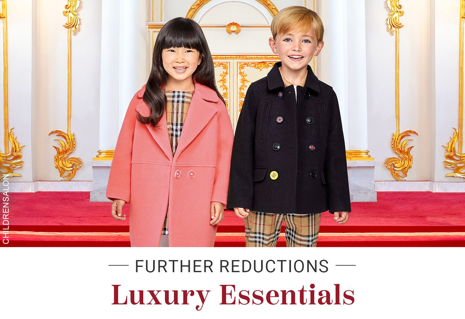 ba64a2d4f446 Further Reductions  Luxury Essentials - Childrensalon Email Archive