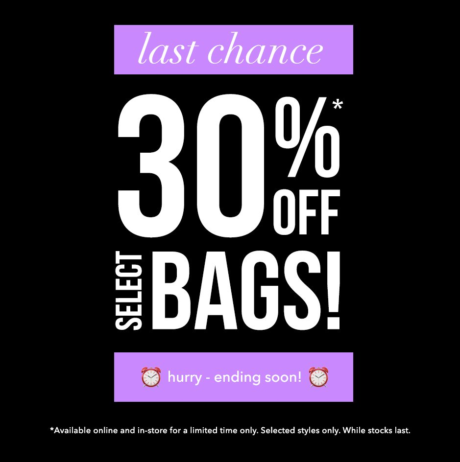 Last Chance for 30% OFF!