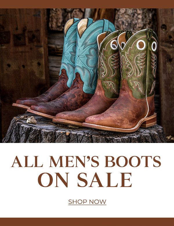 c2f611e9ad7 All Men's Boots On Sale - Sheplers.com Email Archive