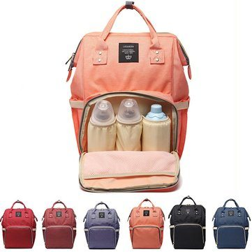 Baby Diaper Nappy Backpack Large Capacity