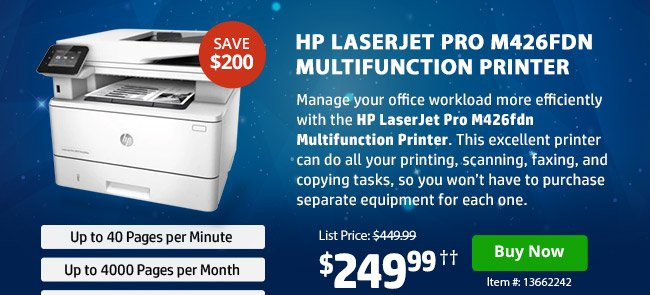 hp coupon book up to 300 off hp s best selling printers