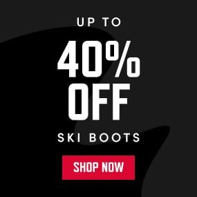 UP TO 40% OFF SKI BOOTS