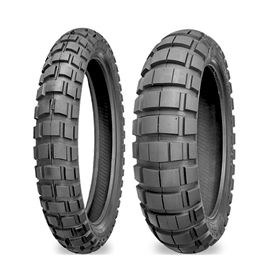 shinko, motorcycle tire, tire, 804 and 805 series adventure trail tire