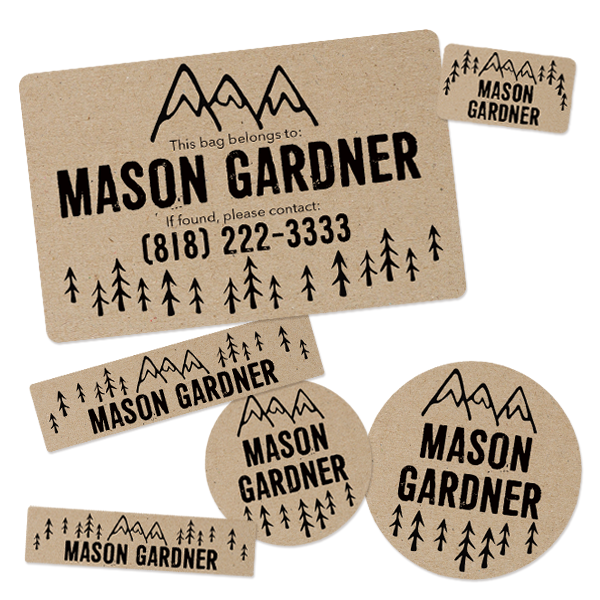 Image of CAMP LABELS