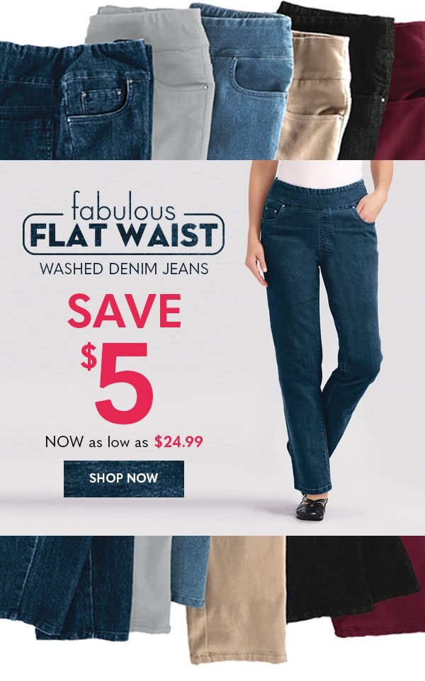 Women's Fabulous Flat Waist: Save $5 (now as low as $24.99)