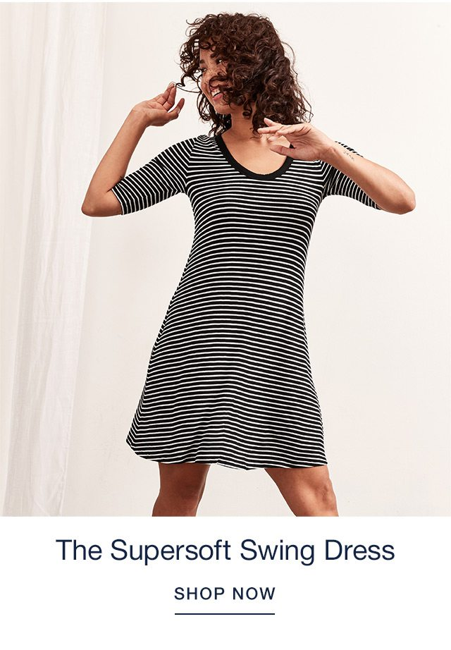 The Supersoft Swing Dress