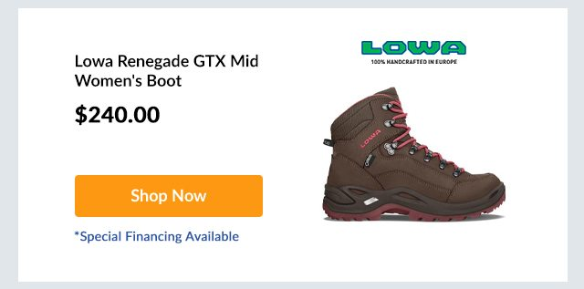 Lowa Renegade GTX Mid Women's Boot
