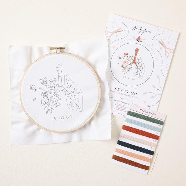 Mental Health Embroidery Kit