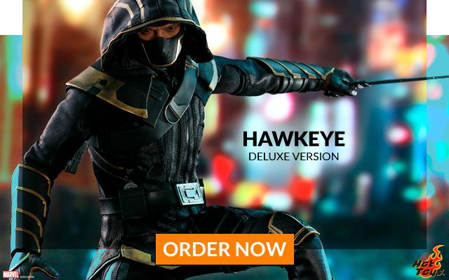 Hawkeye (Deluxe Version) Sixth Scale Figure (Hot Toys)